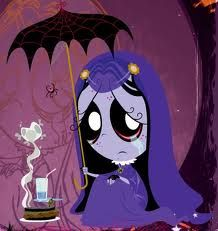 Misery from the series Ruby Gloom that seemed like something of a take-off of Emily the Strange, but has gone on to build it's own more complex universe of characters. So sad...