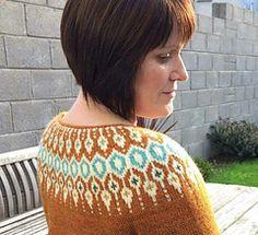 Telja pattern by Jennifer Steingass