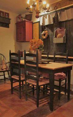 ***Primitive dining area***