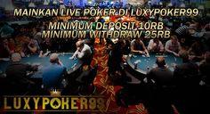 Bermain live poker online indonesia terbaik yaitu tentu saja di luxypoker99 menyediakan permainan live dealer untuk bagi anda yang ingin main poker.