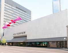 Oxford Properties and Alberta Investment Management Corporation (AIMCo) owned Square One welcomes new lagship Holt Renfrew store, open in spring The Holt, Toronto Street, Holt Renfrew, Retail Therapy, Shopping, Canada, Spring 2016, Places, Oxford