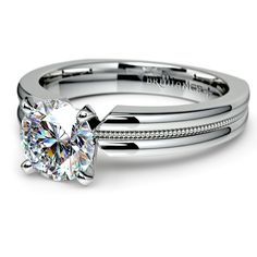 Propose with the stylish Rocker ‎Milgrain‬ Diamond Solitaire‬ Engagement Ring in sleek, durable Platinum‬. Its simple but beautiful design‬ won't clash with her ‎style‬, and it'll last for generations!  http://www.brilliance.com/engagement-rings/rocker-milgrain-solitaire-ring-platinum