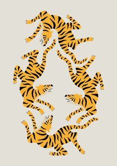 ✖ TIGERS OBSESSION on Behance