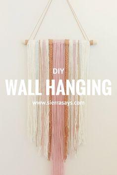 DIY: Easy Wall Hanging