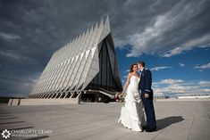 Air Force Academy wedding by Charlotte Geary Photography, via Flickr