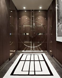 Art Deco Interiors by Blainey North & Associates Interior Exterior, Luxury Interior, Interior Architecture, Interior Design, Lobby Design, Main Door Design, Gate Design, Interiores Art Deco, North Design