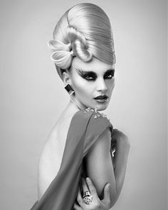 creative red carpet hair inspiration  Hair: Anne Veck for Anne Veck Salons Assisted by: Aneta Kicinska Make-up Elizabeth Rita Photography: Barry Jeffrey Stylist: Kate Jeffrey - long blonde Hairstyles