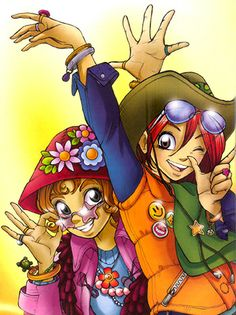 Irma and Will from W.I.T.C.H., Disney