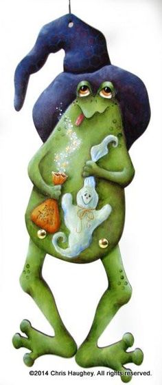 Bag of Tricks Frog E-Pattern