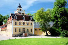 Gentleman's house Castle Belvedere near Weimar in Thuringia.