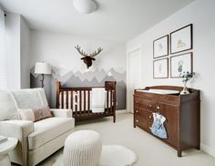 A Rocky Mountain Nursery, perfect for baby.