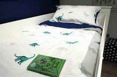 Dinosaur Roar bedding for big boys & girls, reversible cover