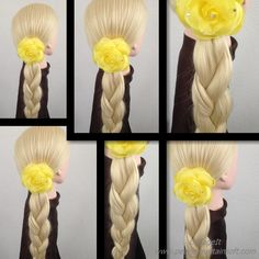 Long hair braid 長發辮子。 लंबे बाल चोटी । طويلة جديلة الشعر .  lange haar vl...