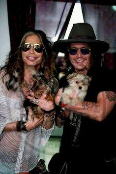Johnny Depp & Steven Tyler