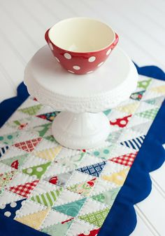 Placemats using April Showers by Bonnie & Camille