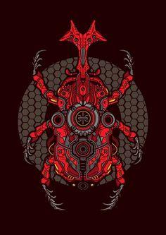 inspired from Kamen Rider Kabuto. Transforming Zecter device to be more detailed and badass looking insects. Kamen Rider Henshin, Kamen Rider W, Kamen Rider Kabuto, Kamen Rider Series, Super Hiro, Pawer Rangers, Hero Time, Demon Art, Beautiful Fantasy Art