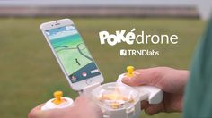 TRNDlabs Pokédrone: The solution that delivers the power of catching 'em all! - YouTube