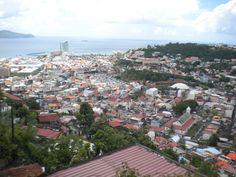 Vue sur les quartiers de Fort de France Martinique on Photos Martinique  http://www.caraibemosaique.com/photosmartinique/social-gallery/dscn7850