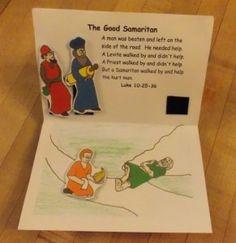 Parable of the Good Samaritan Pop Up Book