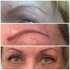Permanent cosmetics & Lashes by Mary! Eyebrows define your look by framing your face. This is immediately after the procedure. Go home looking great! No down time!