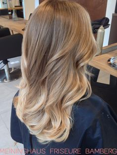 Balayage by Anna at Meininghaus Friseure Bamberg