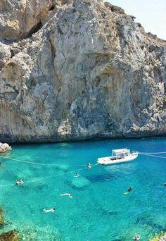 Plakias, Rethymno, Crete island, Greece