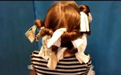 No-Heat Curls Using Nylons:  http://www.princesshairstyles.com/2011/12/how-to-curl-hair-with-nylon-sock.html
