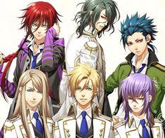 Balder Kamigami No Asobi | Up (from left): Loki Laevatein | Hades Aidoneus | Totsuka Takeru