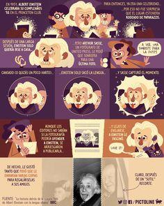 En el cumpleaños de Albert Einstein, la historia detrás de una de sus fotos más icónicas 😛📸