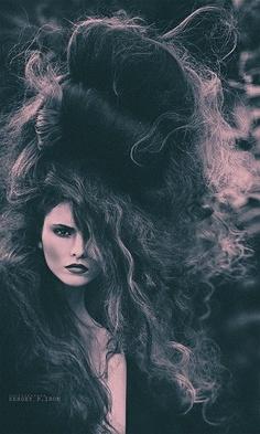 photo noir et blanc : coiffure, cheveux, Sergey P. Iron