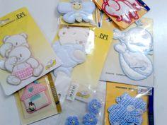 Applicazioni per copertine neonato e per tessuti vari.