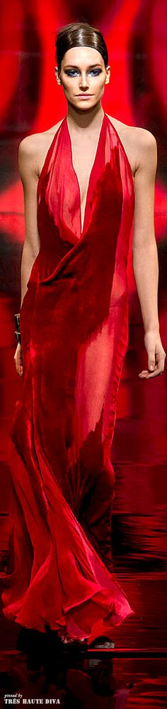 *.* Donna Karan ~ FW 2014-2015 New York Fashion Week. Red