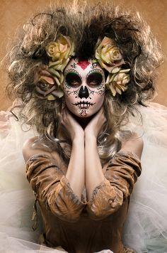 Sugar Skull - Día de los Muertos by Enrico Panina