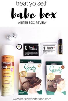 Winter skin and hair getting you down! Level up with this Winter Babe Box