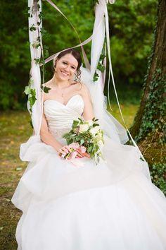 Elizaveta & Dmitrij: Sommermärchen im Schlossgarten REBECCA DYKEMA  http://www.hochzeitswahn.de/inspirationen/elizaveta-dmitrij-sommermaerchen-im-schlossgarten/ #wedding #marry #bride