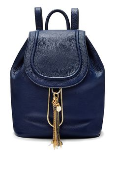 DVF Love Power Large Leather Backpack