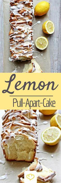 Lemon Pull Apart Cake: Foodbloggerin Mara Hörner von life is full of goodies hat offiziell die Ostersaison eingeleitet. Statt klassischem Hefezopf gibt es dieses Jahr ein fruchtig-frisches Lemon-Pull-Apart-Bread mit spritzigem Zitronenguss.