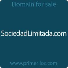 This #domain is for sale. #sociedadlimitada #sociedad #empresa #empresas