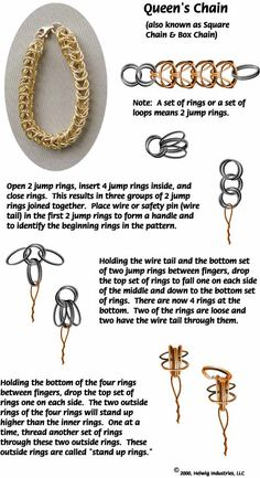 WigJig Jewelry Making techniques for Making Chains Using Tools, Beads, Wire, and…