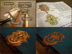 Bookbinder's Chronicle: constructing your own book clasps