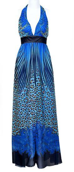 Peacock Maxi Dress ♡