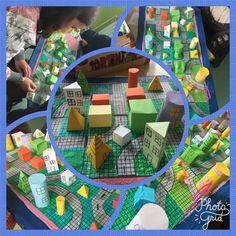 """Projekt detyra """"Qyteti"""" (Format 2D dhe 3D)"""