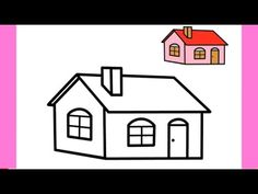 Easy Drawing How To Draw House Easy Step By Step Cool Drawings Pencil Sketch Youtube Cool Drawings House Drawing Easy Drawings
