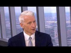 Anderson Cooper's first visit to One World Observatory - YouTube