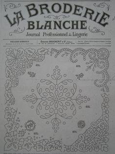 (330) Gallery.ru / Фото #1 - La Broderie Blanche - bird-of-heart