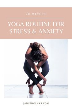 Yoga poses for beginners for stress and anxiety relief. If you are looking for a workout yoga routine to help relieve your stress anxiety and to help you relax this is the best 20 minute routine for you! Mindfulness For Beginners, Benefits Of Mindfulness, Yoga Poses For Beginners, Stress Yoga, Stress And Anxiety, Anxiety Relief, Yoga Meditation, Yoga Flow, Yoga Routine