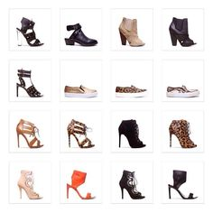 The complete capsule collection from Chiara Ferragni x Steve Madden. What's your fave?