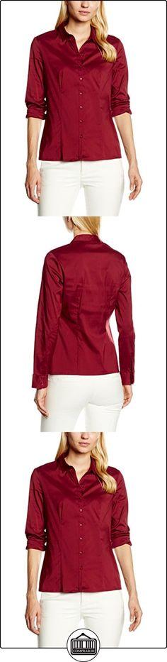 s.Oliver BLACK LABEL 11.608.11.2173, Blusa para Mujer, Rojo (Glory Red 3872), 40 Inches (Talla del Fabricante: 40)  ✿ Blusas y camisas ✿
