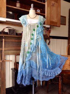 SALE****Luv Lucy Crochet Dress Mermaids Garden boho gypsy von LuvLucyArtToWear auf Etsy https://www.etsy.com/de/listing/196873297/saleluv-lucy-crochet-dress-mermaids