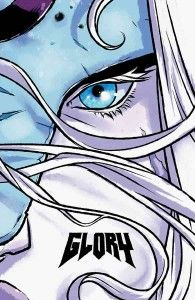 Glory: The Complete Saga, collecting all twelve issues of writer Joe Keatinge and artist Ross Campbell's year-long run on the Image Comics title, will get a hardcover release in April. According to the publisher, Glory: The Complete Saga includes Glory issues 23-34 for the very first time in a deluxe, oversized hardcover edition—encased in a stunning wraparound cover featuring new art from Ross. Also included are never-before-seen sketchbook materials, scripts, commentary, and interviews.
